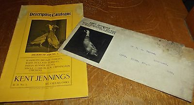 Old Kent Jennings Catalogue of Ducks Chickens & Turkeys Mt. Gilead Ohio