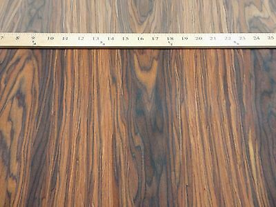 """Rosewood composite wood veneer 24"""" x 48"""" raw no backing 1/42"""" thickness (#2305)"""