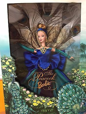 Peacock Barbie Collectors Edition DISCONTINUED RARE