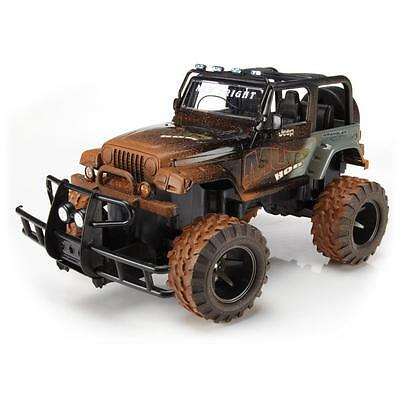 New Bright 1:15 Mud Slinger R/c Jeep Or Truck