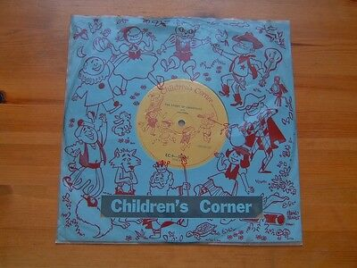 """CHILDRENS CORNER the story of christmas with june tobin 10"""""""