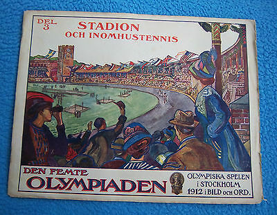 Orig.PRG / Pictorial Review   Olympic Games STOCKHOLM 1912 - THE OLYMPIC STADIUM