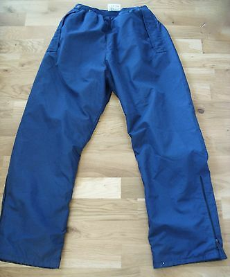 Ladies Goretex Waterproof Golf Trousers Fully Lined Size 10-12