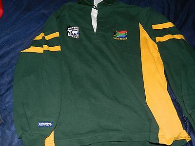 South Africa World Rugby Jersey (M) made by Barbarian