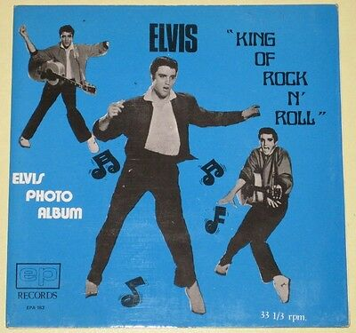 Elvis M-/VG+ King Of Rock'n'Roll Malaysia only fantastic Gatefold Compact-33 EP