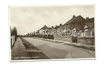 Hampshire: Waterlooville : Cowplain : Upper Gladys Avenue Old Postcard