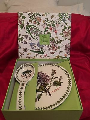 PORTMEIRION Trivet And Spoon Rest Set (NEW BOXED )