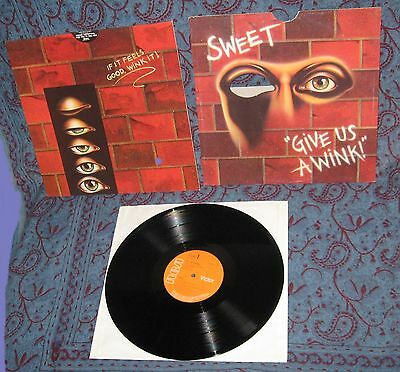 LP SWEET: give us a wink (UK, Gimmix-Cover)