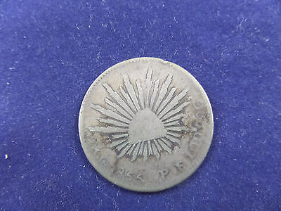 1855 Mexico 2 REALES 2 R G 1855 P F 1OD 20G