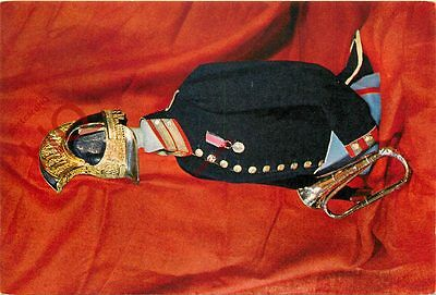 Postcard: HOUSEHOLD CAVALRY MUSEUM, WATERLOO BUGLE OF THE 1ST LIFE GUARDS