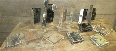 14 Locks Rim Night Latch Dead Bolt Architectural Salvage Door Hardware Mortise f