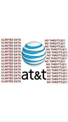 AT&T Unlimited Data Rental 4G LTE 3 day trial (SIM Card only) STATIC IP OPTION