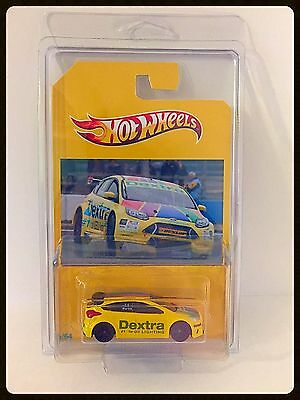 Custom Done One Of Hot Wheels BTCC Ford Focus Number 14 Martin