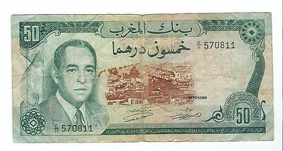 Morocco - 1970, Fifty (50) Francs