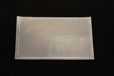 Overlay Crystal Clear, Thin .05 mil, Self Stick Inkjet Teslin ID - Lot of 25