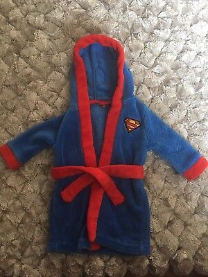 Superman Dressing Gown 3-6 months