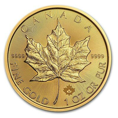 SPECIAL PRICE! 2017 Canada 1 oz Gold Maple Leaf Coin Brilliant Uncirculated