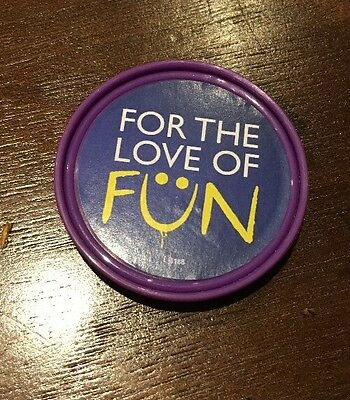 """Merlin """"For The Love Of Fun"""" Pop Badge"""