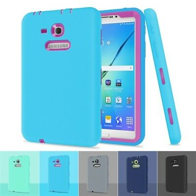 Shockproof Hard Tablet Heavy Duty Case Cover for Samsung Galaxy Tab 3/E Lite 7.0