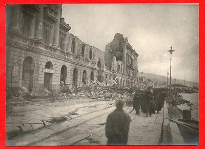 Messina-Terremoto Del 1908-Foto Originale D'epoca-05