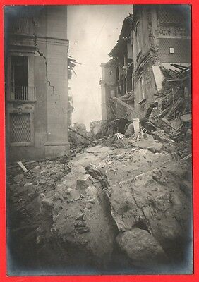 Messina-Terremoto Del 1908-Foto Originale D'epoca-04