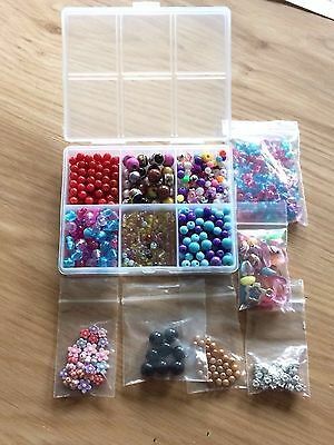Selection Of Beads For Jewellery Making