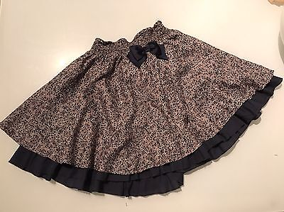 Monsoon Girls Skirt Age 7-8 Excellent Condition