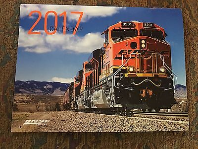 2017 BNSF  Calendar Burlington Northern Railway, Locomotive, Train