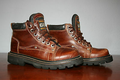 GBX Xtreme Force . Brown Leather Oxfords Heavy. men's sz 6