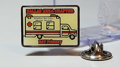Dallas Area Chapter of the American Red Cross.  This is a 1995 pinback.
