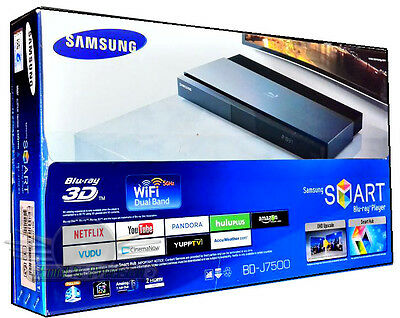 Samsung BD-J7500 3D 4K Upscaling Blu-ray Player with Wi-Fi New 4k Blu-ray Player