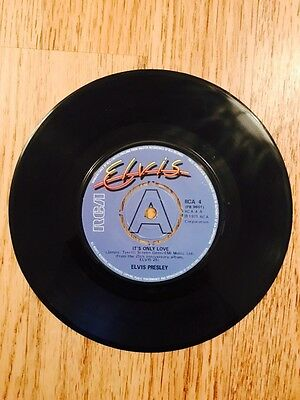 Elvis Presley Its Only Love Record Rare 1971