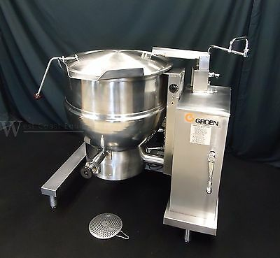 Groen Gas 40 Gallon Steam Jacketed Tilt Kettle Dht-40 60 - Absolutely Flawless !