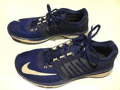 Nike Zoom Speed TR Mens Runners, Blue/White Sz 8 U.S. Good condition