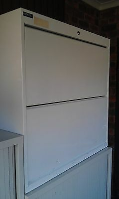Lateral Filing Cabinet - 2 Tier Shelf