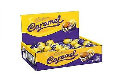 Cadbury Caramel Milk Chocolate Eggs 5 - 48 Easter Gift Party Valentines Treat UK