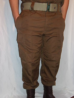 South African SADF Nutria Brown Combat Trousers- Size US 44 Waist