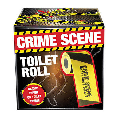 Crime Scene Novelty Bathroom Toilet Loo Paper Roll Tissue Stocking Filler Gift