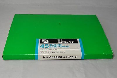 Rare* Fuji Deluxe Negative Carrier (100x125mm) 45 for Fuji Enlarger A450 C450