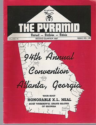 1987 The Pyramid Magazine Vol 45 No 180 -  Black Masons