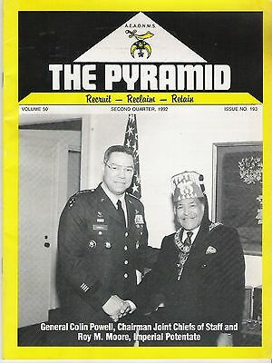 1992 The Pyramid Magazine Vol 50  No 193 -  Black Masons