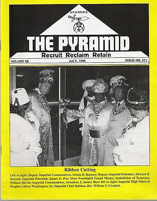 1999 The Pyramid Magazine Vol 58 No 211 -  Black Masons