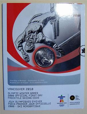 First Day Freestyle Skiing 25 Cent Coin Nice Take a Look