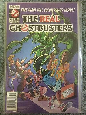 The Real Ghostbusters #18 (Now Comics February 1989)
