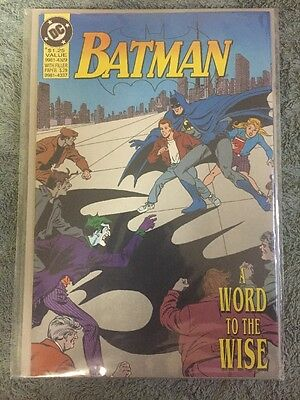 Batman A Word To The Wise (DC Promo Comic 1992)