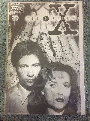 The X-Files Special Ashcan Edition TOPPS Comics