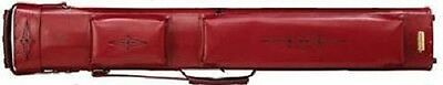 New Vincitore 2x4 Justis Style Pool Cue Case Red