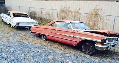 1964 Ford Galaxie 2 Door Hardtop ****TWO !! Galaxies and a Four Speed Trans****