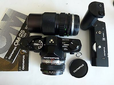 Olympus OM-2s camera with 50mm 1.8 lens