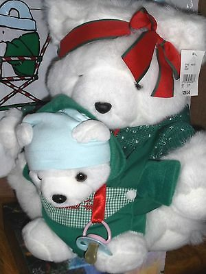 Mrs. Santabear and Baby Boy Berry Dayton Hudson Marshall Field Target '02